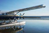 airplane on Alaska