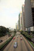 Hong Kong Downtown Street
