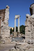 Ionic Columns in Rome