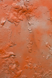 foto of graff  - Abstract orange and gray old metal graffitti background - JPG