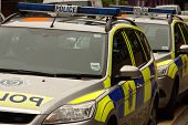 Two UK Police Cars