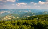 View East Of Mountains And Valleys From Spruce Knob, West Virginia
