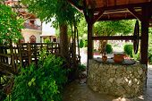 Bulgarian traditional country, summer exterior