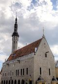 View of Town hall. Tallinn, Estonia