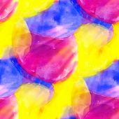 sunlight seamless blue purple yellow background watercolor water