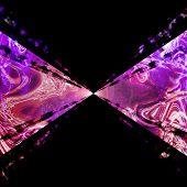 Purple Plasma Vortex