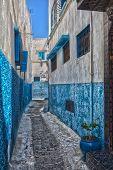 Street In Rabat Medina