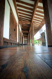 picture of hangul  - Wood flooring on korean tranditional hangul house  - JPG