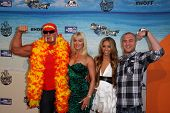 Hulk Hogan and Nick Hogan at the Comedy Central Roast of David Hasselhoff, Sony Studios, Culver City, CA. 08-01-10