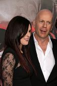 Rumor Willis, Bruce Willis at the