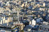 Athens Cityscape Closeup