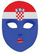 Croatia Mask