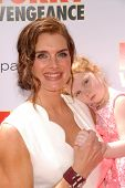 Brooke Shields and daughter  at the Los Angeles Premiere of