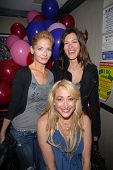 Jennifer Blanc-Biehn, Caitlin Keats and J.C. Brandy at Jennifer Blanc-Biehn's Birthday Party, Sardos