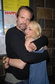 Michael Biehn and Jennifer Blanc-Biehn at Jennifer Blanc-Biehn's Birthday Party, Sardos, Burbank, CA