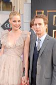 Leslie Bibb and Sam Rockwell  at the