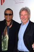 Billy Dee Williams and Harrison Ford at