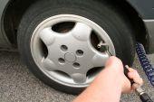 Inflate Tyre Car Wheel