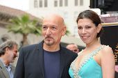 Sir Ben Kingsley, Daniela Lavender at the induction ceremony for Sir Ben Kingsley into the Hollywood Walk of Fame< Hollywood, CA. 05-27-10