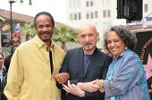 Tim Reid, Sir Ben Kingsley, Daphne Maxwell Reid  at the induction ceremony for Sir Ben Kingsley into the Hollywood Walk of Fame< Hollywood, CA. 05-27-10