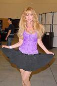 Laurene Landon at the Pasadena Rock'n Comic Con Day 2, Pasadena Convention Center, Pasadena, CA. 05-29-10