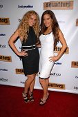 Ashley Marriott and Kerri Kasem at the Red Carpet Launch Party for