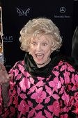 Phyllis Diller  at the 9th Annual Chrysalis Butterfly Ball, Private Location, Beverly Hills, CA. 06-