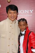 Jackie Chan and Jaden Smith at