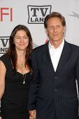 Steven Weber and wife Juliette Hohnen at the The AFI Life Achievement Award Honoring Mike Nichols presented by TV Land, Sony Pictures Studios, Culver City, CA. 06-10-10