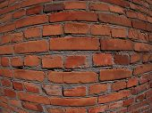 brick wall fisheye