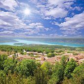 Landscape of Provence. France.