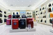 SHENZHEN, CHINA-APRIL 13: Samsonite shop on April 13, 2014 in Shenzhen, China. ShenZhen is regarded