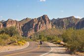 Motorcycle Through Arizona