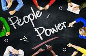 Multiethnic People Discussing About People Power
