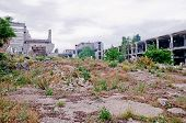 Ruins Meat-processing Plant In Kerch