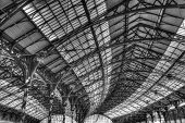 Roof of Brighton railway station