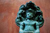 Idol Statues Lanna Belief.