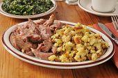 Turkey Pot Roast And Stuffing