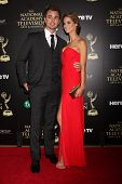 LOS ANGELES - JUN 22:  Darin Brooks, Kelly Kruger at the 2014 Daytime Emmy Awards Arrivals at the Beverly Hilton Hotel on June 22, 2014 in Beverly Hills, CA