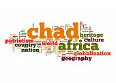 stock photo of chad  - Chad word image with hi - JPG
