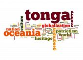 Tonga Word Cloud