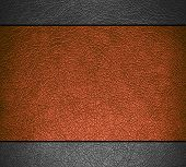 Brown and gray leather texture background