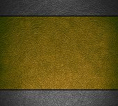 Gold and gray leather texture background