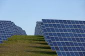 Solar Panels Alternative Energy Power Station