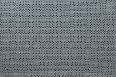 Texture Leather Of Silvery Color With Outer Side
