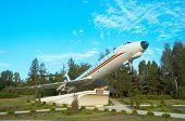 TU-134 monument