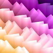 3d Abstract Vector Background Texture