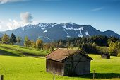 Mountain Landscape With Hovel