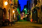picture of galway  - old Galway city streetKerwan - JPG