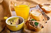 Sandwich With Meat Pate
